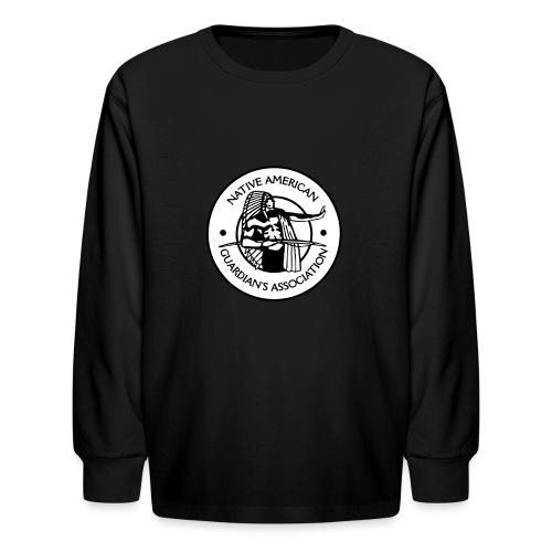 NAGA Logo - Kids' Long Sleeve T-Shirt