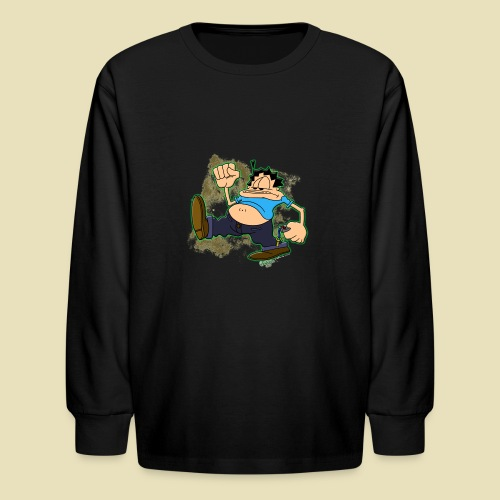 Ongher's UFO Ongher March - Kids' Long Sleeve T-Shirt