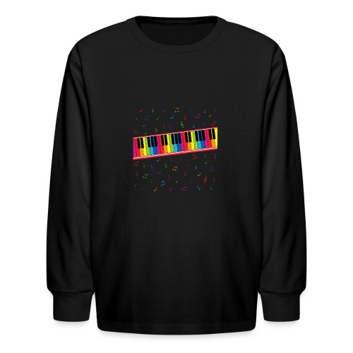 Colorful Piano - Kids' Long Sleeve T-Shirt