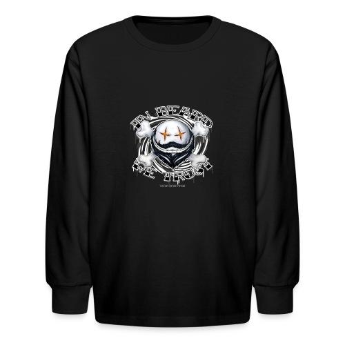 in beard we trust - Kids' Long Sleeve T-Shirt