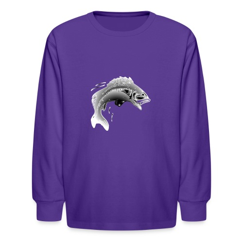 fishermen T-shirt - Kids' Long Sleeve T-Shirt