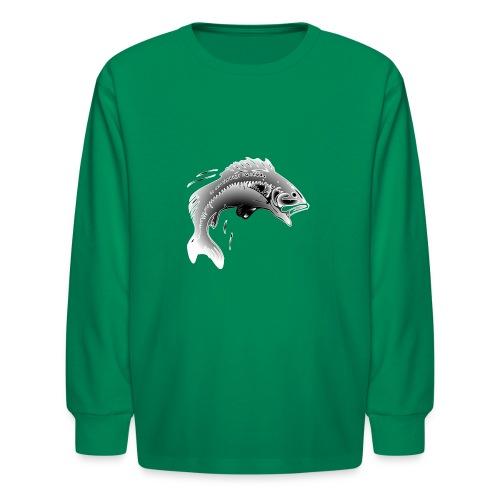 fishermen T-shirt - Kids' Long Sleeve T-Shirt