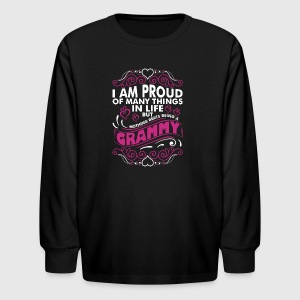 Im Proud Of Many Thing In Life Grammy - Kids' Long Sleeve T-Shirt