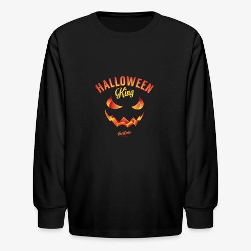Halloween King - Kids' Long Sleeve T-Shirt