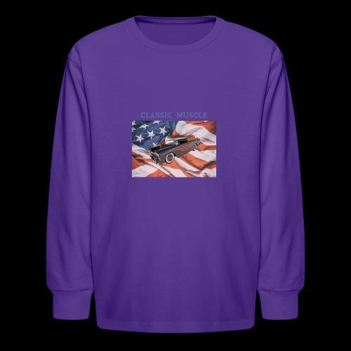 CLASSIC MUSCLE - Kids' Long Sleeve T-Shirt