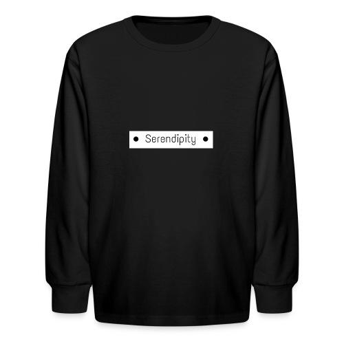 Serendipity - Kids' Long Sleeve T-Shirt