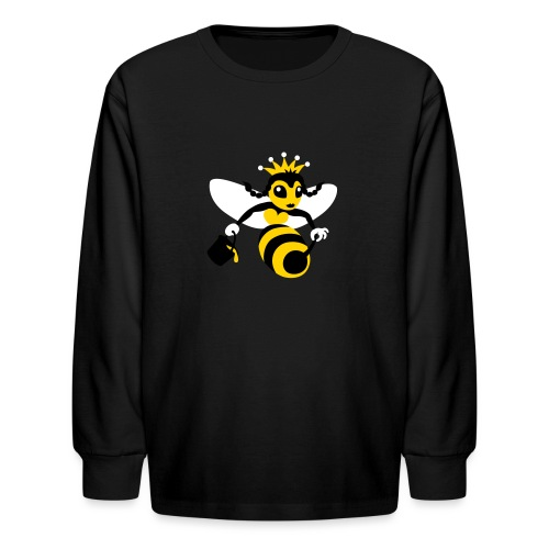 Queen Bee - Kids' Long Sleeve T-Shirt