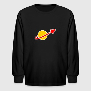 Vintage Lego Space - Kids' Long Sleeve T-Shirt