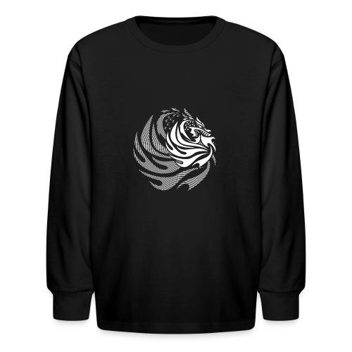 Fire Dragon - Kids' Long Sleeve T-Shirt