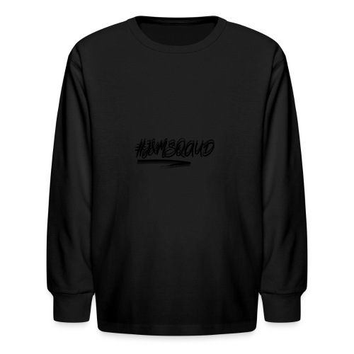 #J&MSquad Logo - Kids' Long Sleeve T-Shirt