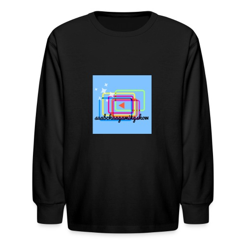 Suabchuagamingshow merch - Kids' Long Sleeve T-Shirt