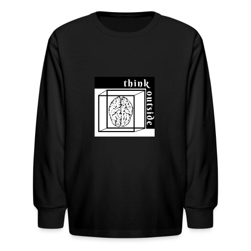 think outside the box - Kids' Long Sleeve T-Shirt
