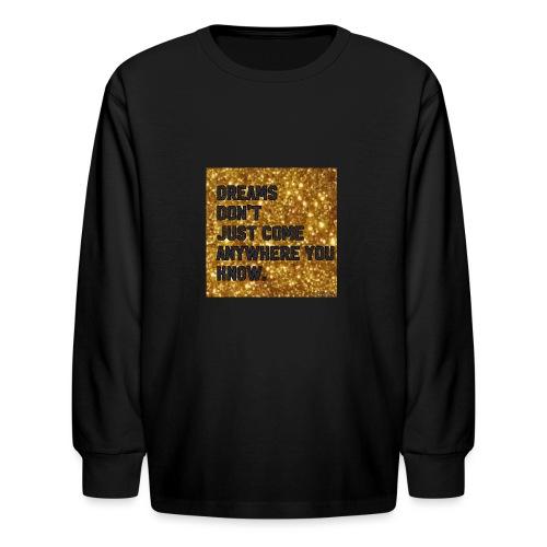 dreamy designs - Kids' Long Sleeve T-Shirt