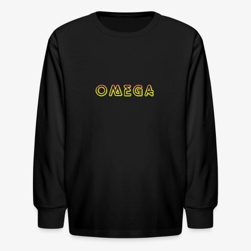Omega - Kids' Long Sleeve T-Shirt