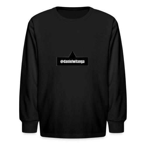 danielwitanga POP TAG - Kids' Long Sleeve T-Shirt