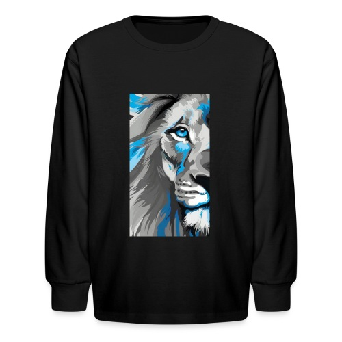 Blue lion king - Kids' Long Sleeve T-Shirt