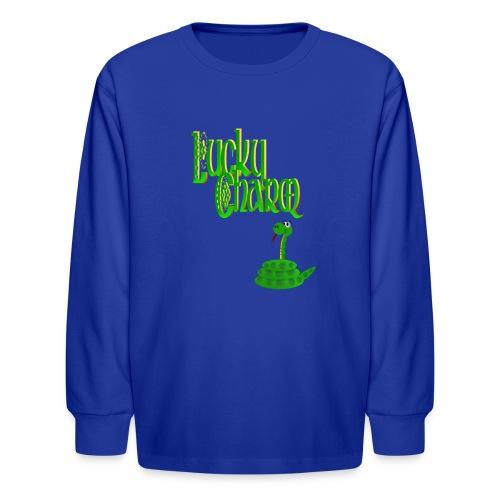 Lucky Charm - Kids' Long Sleeve T-Shirt
