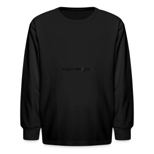 Man of Water Main Logo - Kids' Long Sleeve T-Shirt