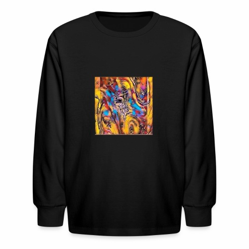 Welcome Abstract - Kids' Long Sleeve T-Shirt
