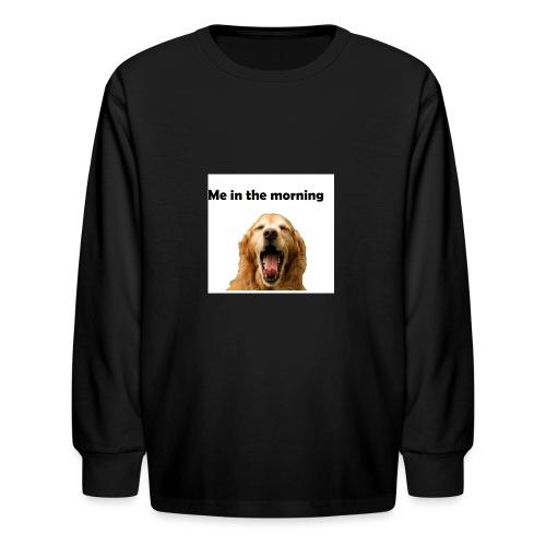 doggo - Kids' Long Sleeve T-Shirt