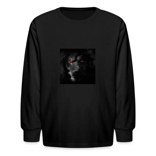 Black ye - Kids' Long Sleeve T-Shirt