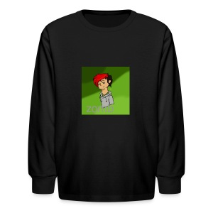 zomb is nere - Kids' Long Sleeve T-Shirt