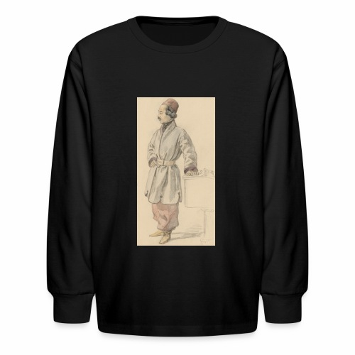 rs portrait sp 01 - Kids' Long Sleeve T-Shirt