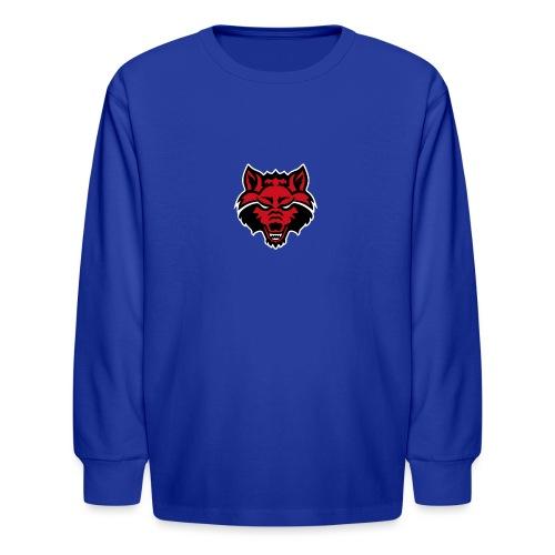 Red Wolf - Kids' Long Sleeve T-Shirt