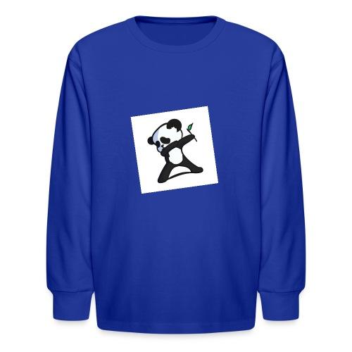 Panda DaB - Kids' Long Sleeve T-Shirt