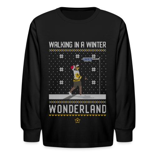 2018_Walking Winter Wonde - Kids' Long Sleeve T-Shirt