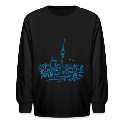 Panorama of Berlin - Kids' Long Sleeve T-Shirt