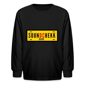 SoundChekk_BandVector - Kids' Long Sleeve T-Shirt