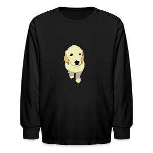 Golden Retriever puppy - Kids' Long Sleeve T-Shirt