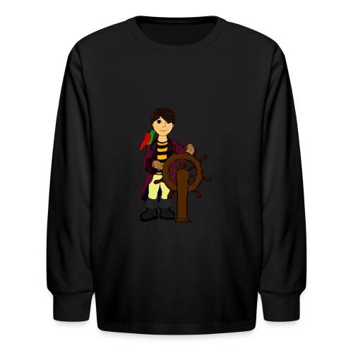 Alex the Great - Pirate - Kids' Long Sleeve T-Shirt