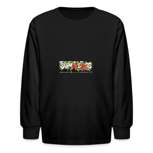 Shameless - Kids' Long Sleeve T-Shirt