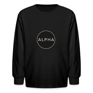 alpha team fitness - Kids' Long Sleeve T-Shirt