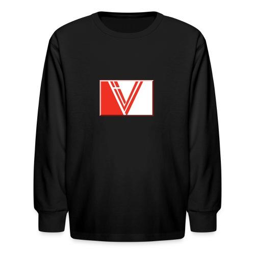 LBV red drop - Kids' Long Sleeve T-Shirt