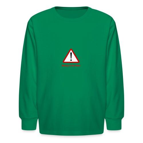 Warning I m Very Smart - Kids' Long Sleeve T-Shirt