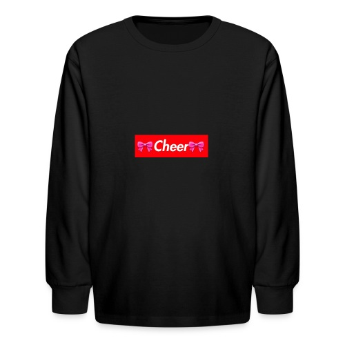 Cheer Merchandise - Kids' Long Sleeve T-Shirt