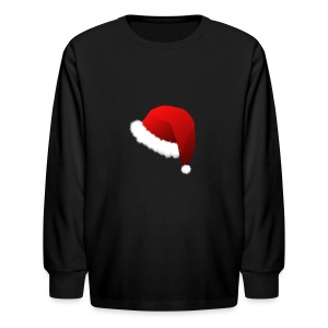 Carmaa Santa Hat Christmas Apparel - Kids' Long Sleeve T-Shirt