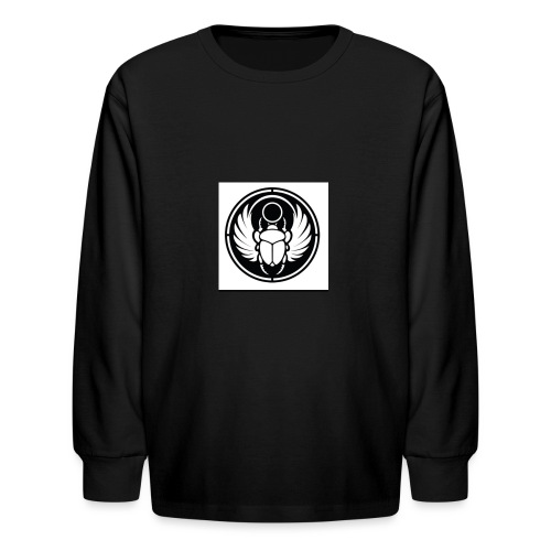Scarab - Kids' Long Sleeve T-Shirt