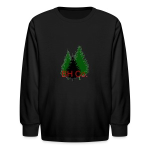 EVERGREEN LOGO - Kids' Long Sleeve T-Shirt