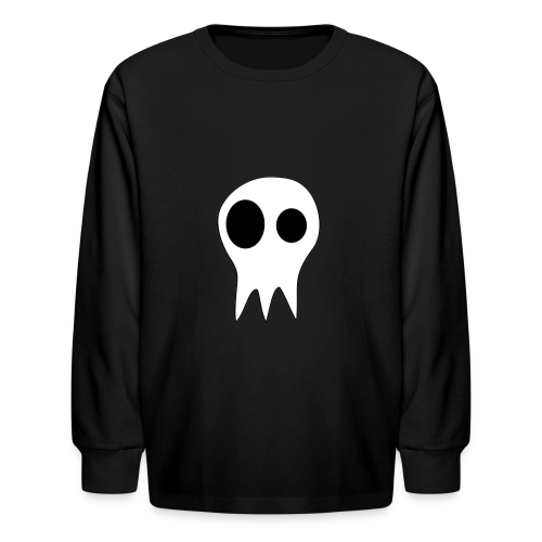The Grims Skull Logo - Kids' Long Sleeve T-Shirt