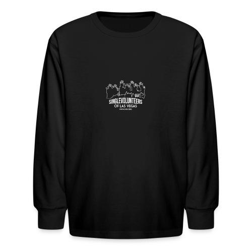 SingleVolunteers - Kids' Long Sleeve T-Shirt