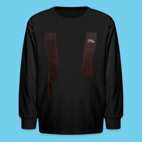 Backpack straps - Kids' Long Sleeve T-Shirt
