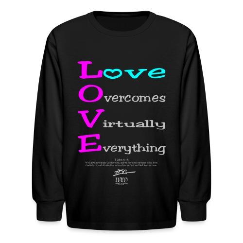 WW L.O.V.E - Kids' Long Sleeve T-Shirt