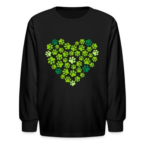 Animal Love - Kids' Long Sleeve T-Shirt