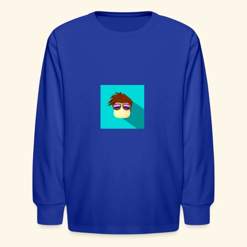 NixVidz Youtube logo - Kids' Long Sleeve T-Shirt