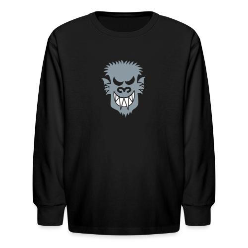 Naughty Halloween Werewolf - Kids' Long Sleeve T-Shirt