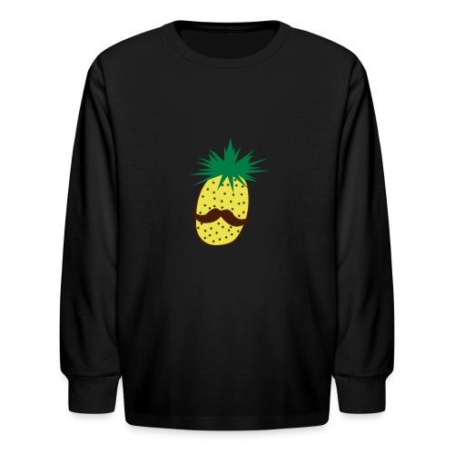 LUPI Pineapple - Kids' Long Sleeve T-Shirt